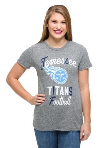 Tennessee Titans Touchdown Tri-Blend Juniors T-Shirt