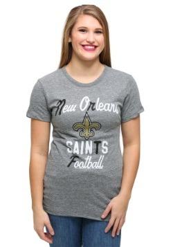 New Orleans Saints Touchdown Tri-Blend Juniors T-Shirt