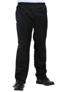 Men's Plain Black Pants