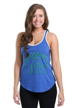 Seattle Seahawks Time Out Tank Womens