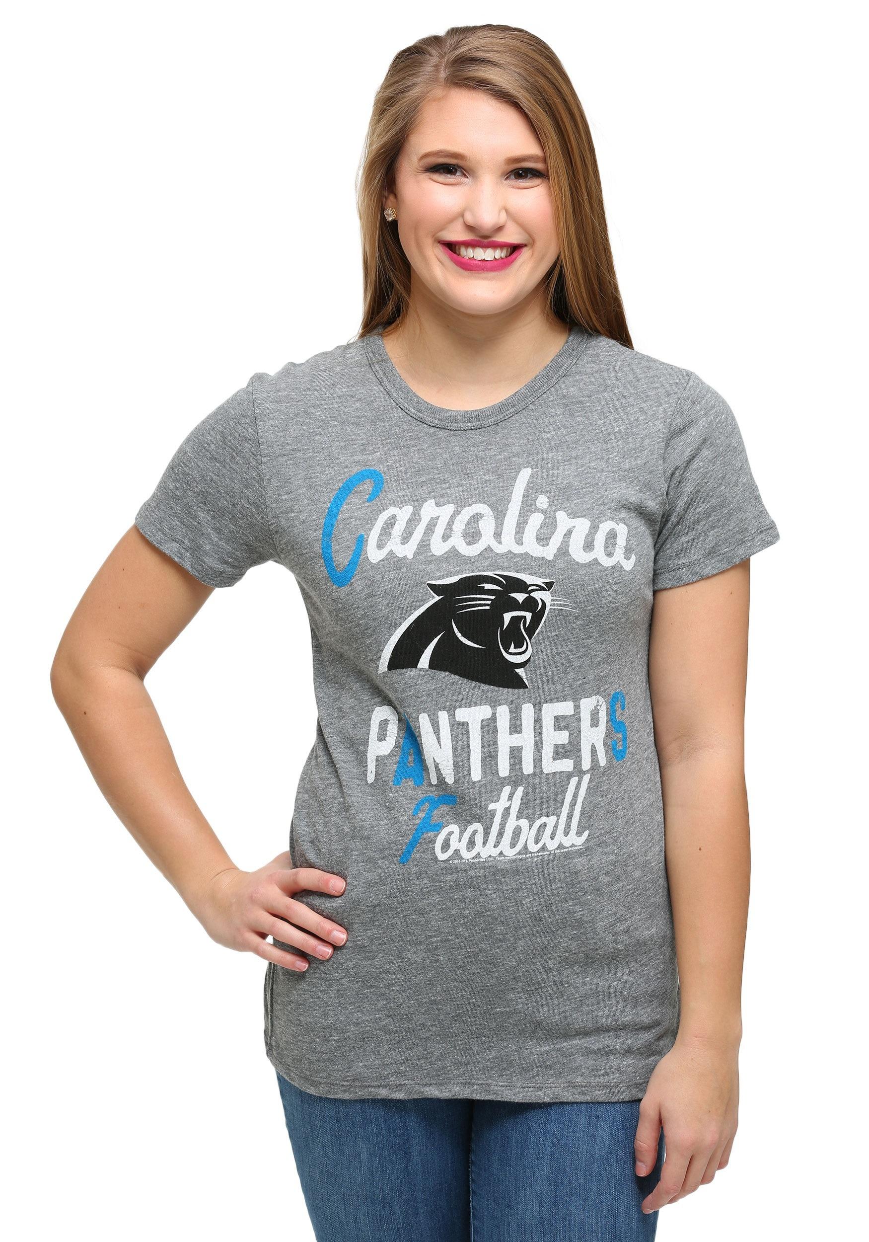 carolina panthers female shirts