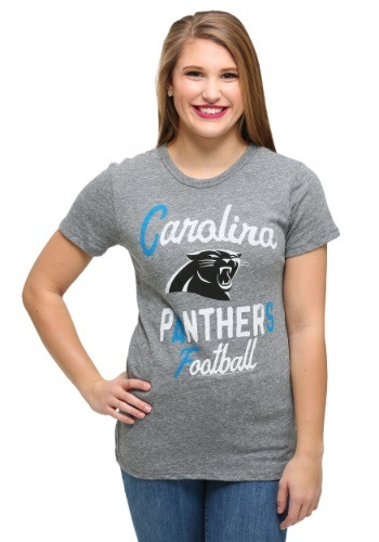Fun.com - Womens Carolina Panthers Touchdown Tri-Blend T-Shirt Photo