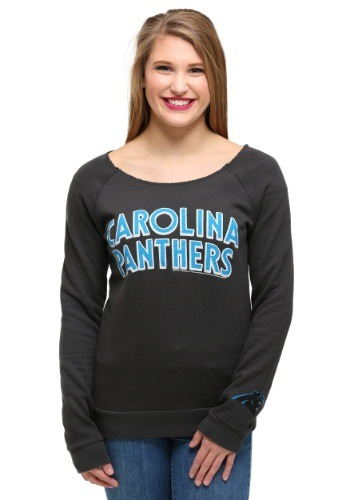 Womens Carolina Panthers Champion Fleece