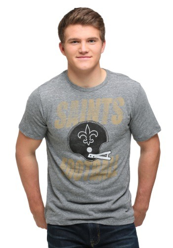 New Orleans Saints Touchdown Tri-Blend Men's T-Shirt