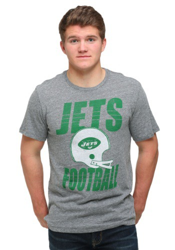 New York Jets Touchdown Tri-Blend T-Shirt