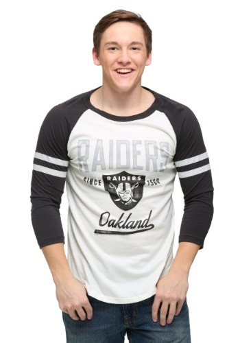 Men's Oakland Raiders All American Raglan