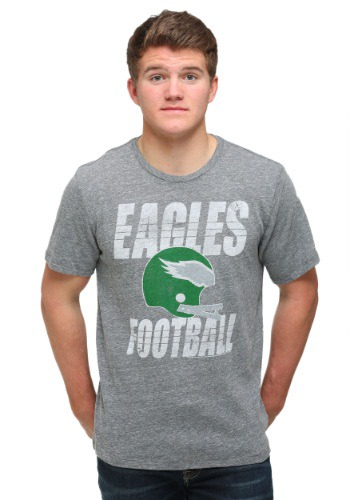 Philadelphia Eagles Touchdown Tri-Blend Men's T-Shirt