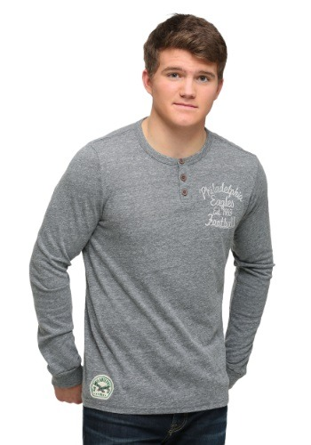 Philadelphia Eagles Huddle Henley Long Sleeve Shirt
