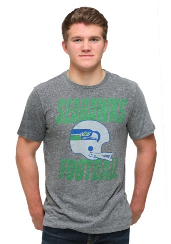 Seattle Seahawks Touchdown Tri-Blend T-Shirt