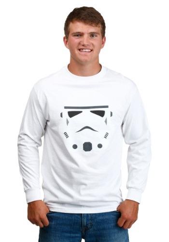 Stormtrooper Helmet Glossy Long-Sleeved Shirt