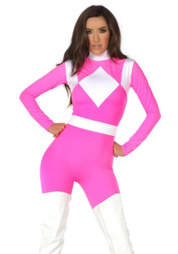 Women's Dominance Action Figure Pink Catsuit FP555258