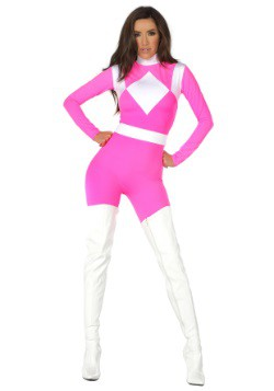 Women's Dominance Action Figure Pink Catsuit 3