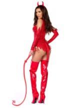 Sizzle N Shine Women's Devil Costume Alt2