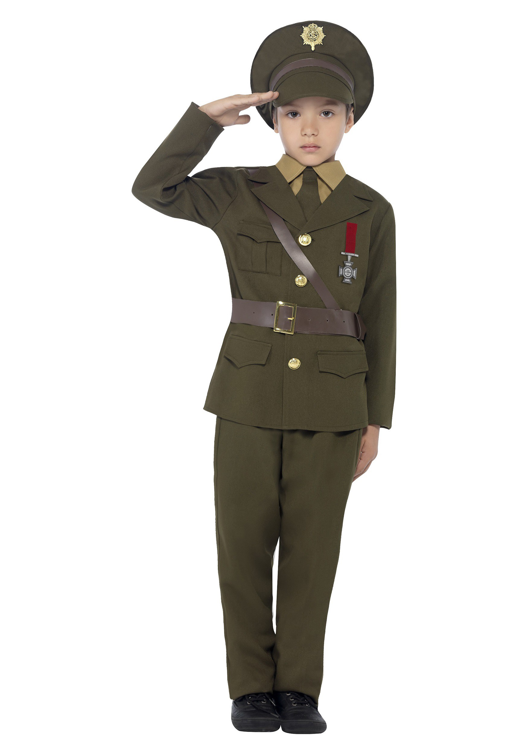 Kids Army Officer Costume  sc 1 st  Fun.com & Army Officer Costume for Kids