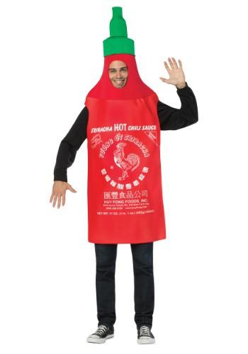 Sriracha Bottle Adult Tunic