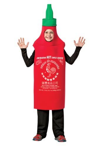 Kids Sriracha Costume