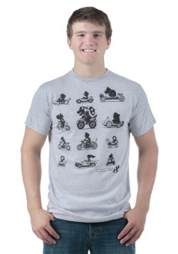 Mario Kart 8 The Racers Men's T-Shirt