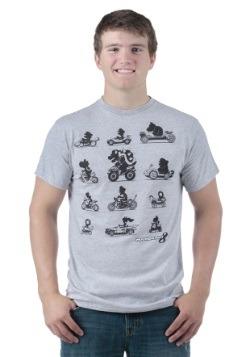 Mario Kart 8 The Racers Men's T-Shirt