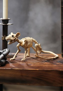 Mini Skeleton Rat Decoration