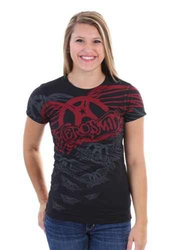 Aerosmith Walk This Way Juniors T-Shirt