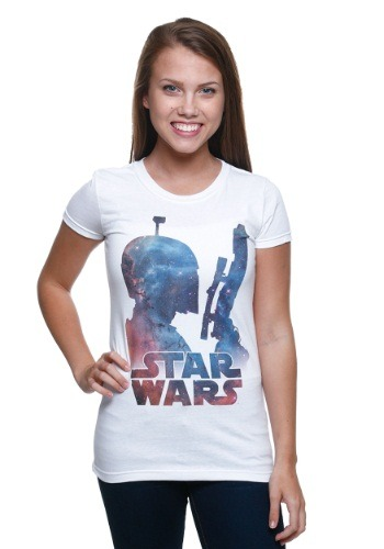 Star Wars Galaxy Boba Juniors T-Shirt