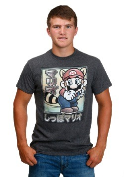 Super Mario Tanooki Japanese Men's T-Shirt