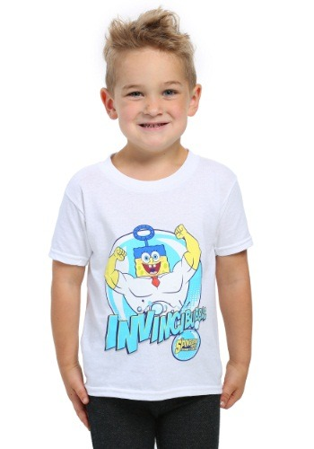 Sponge Bob Invincible Toddler Boys T-Shirt