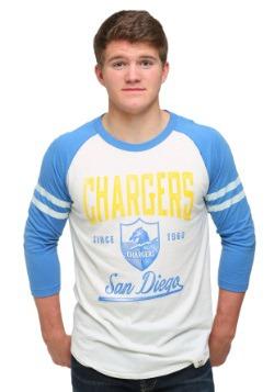 Men's San Diego Chargers All American Raglan