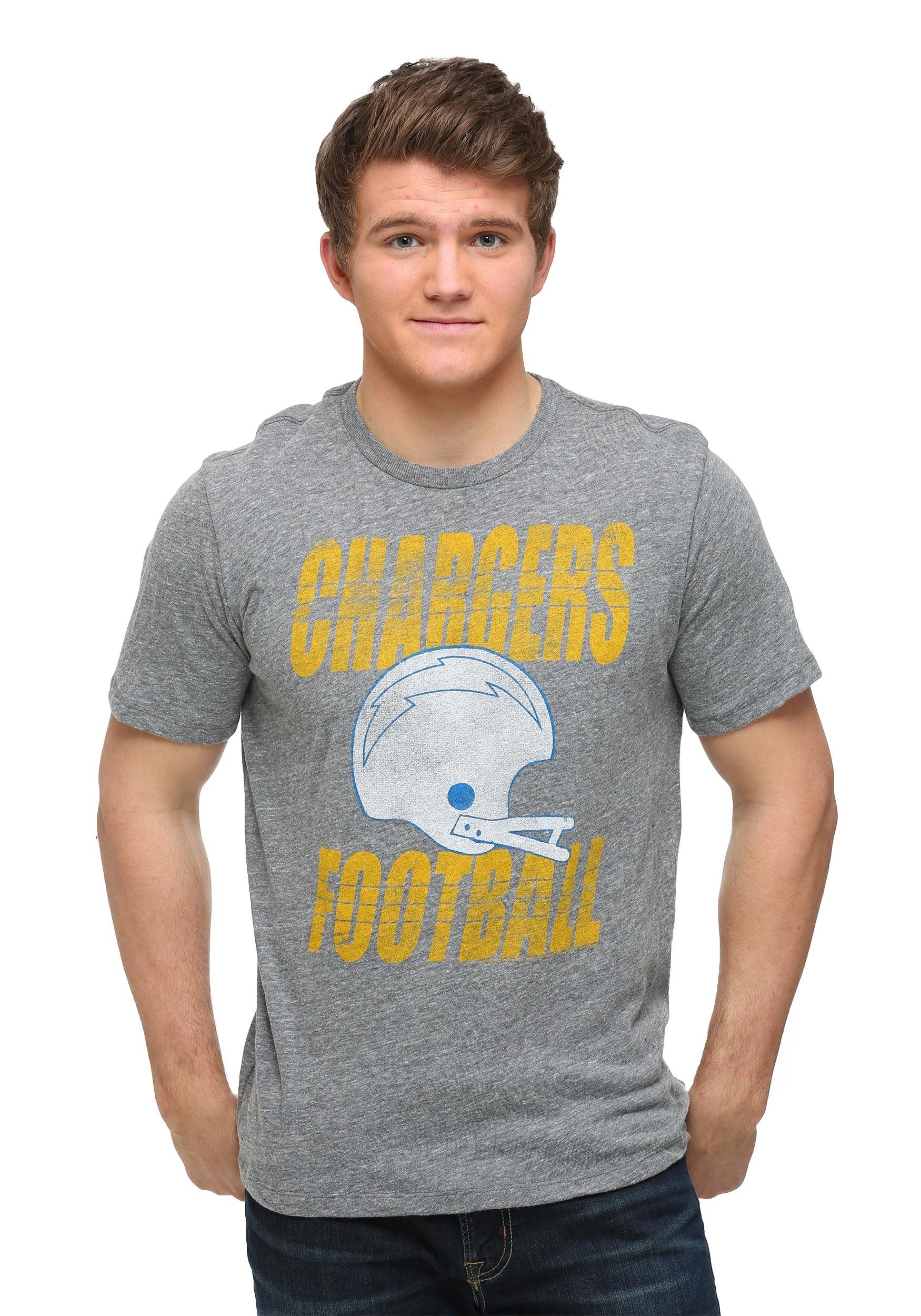 San Diego Chargers Touchdown Tri Blend Men S T Shirt