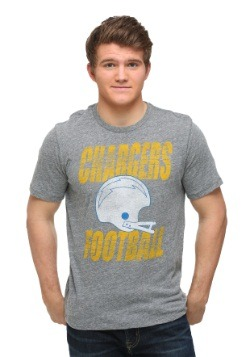 San Diego Chargers Touchdown Tri-Blend Men's T-Shirt