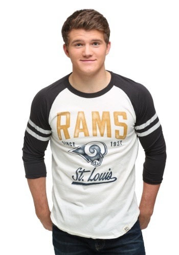 St Louis Rams All American Raglan