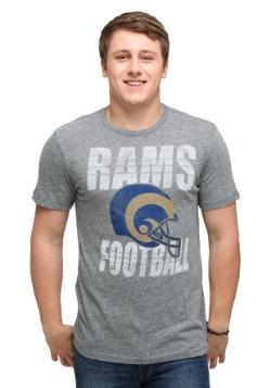 St Louis Rams Touchdown Tri-Blend Men's T-Shirt