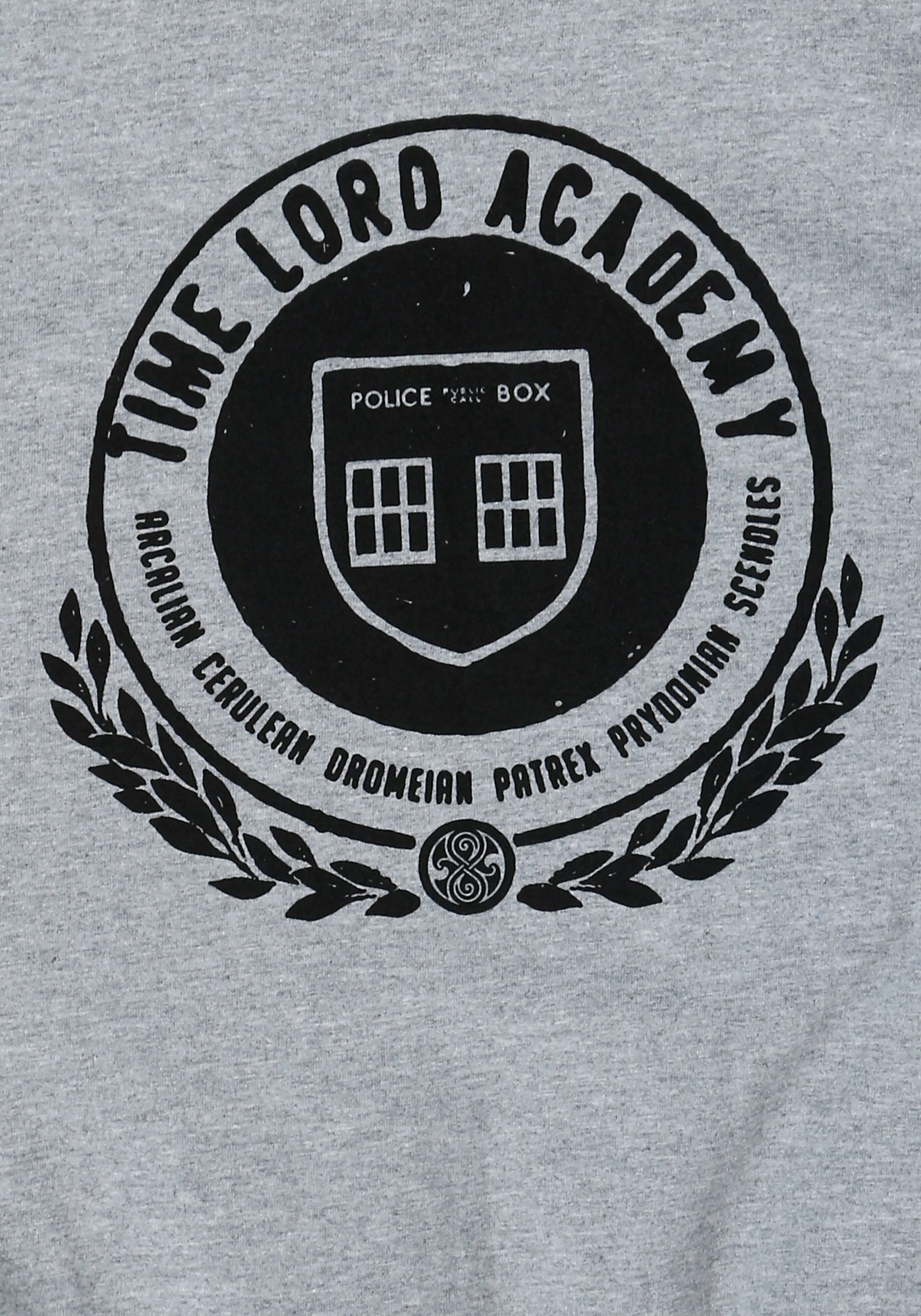 Doctor Who Time Lord Academy Mens T Shirt