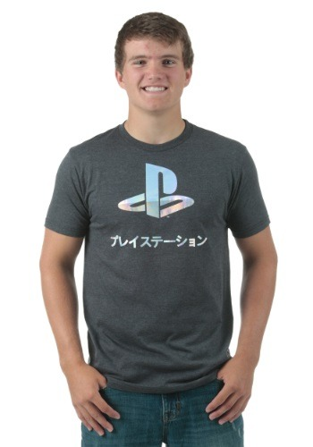 PlayStation Foil Logo T-Shirt