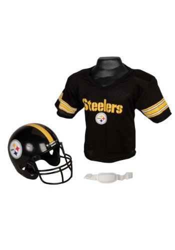 Child NFL Pittsburgh Steelers Helmet and Jersey Set