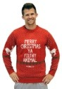 Home Alone Red Merry Christmas Ya Filthy Animal Sweater