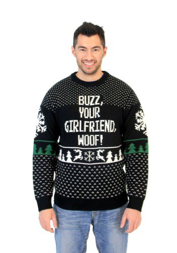 Adult Home Alone Buzz Your Girlfriend Woof Sweater