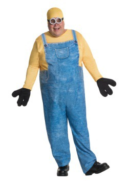 Plus Size Minion Bob Costume