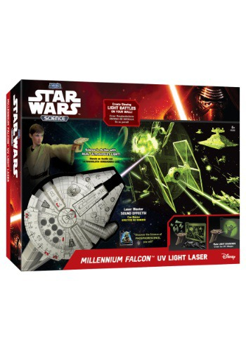 Millennium Falcon UV Light Blaster