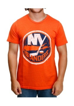 New York Islanders Orange Men's T-Shirt