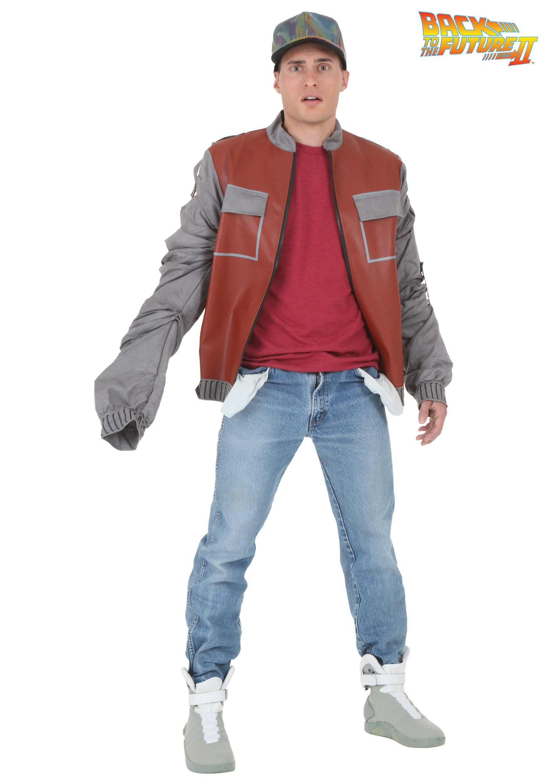 Plus Back to The Future Marty McFly Jacket BTF2248PL