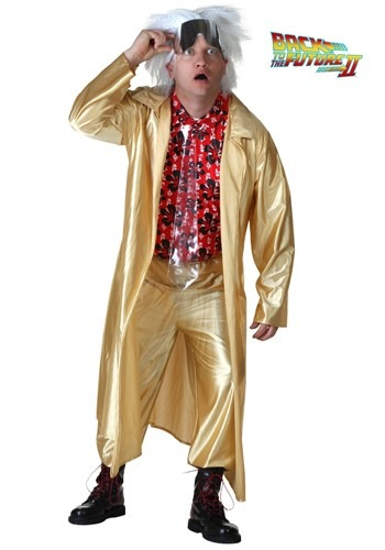 Plus Back to the Future Doc Brown Costume