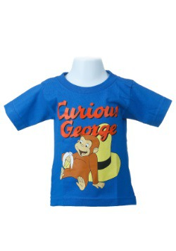 Curious George Toddler Royal Blue T-Shirt