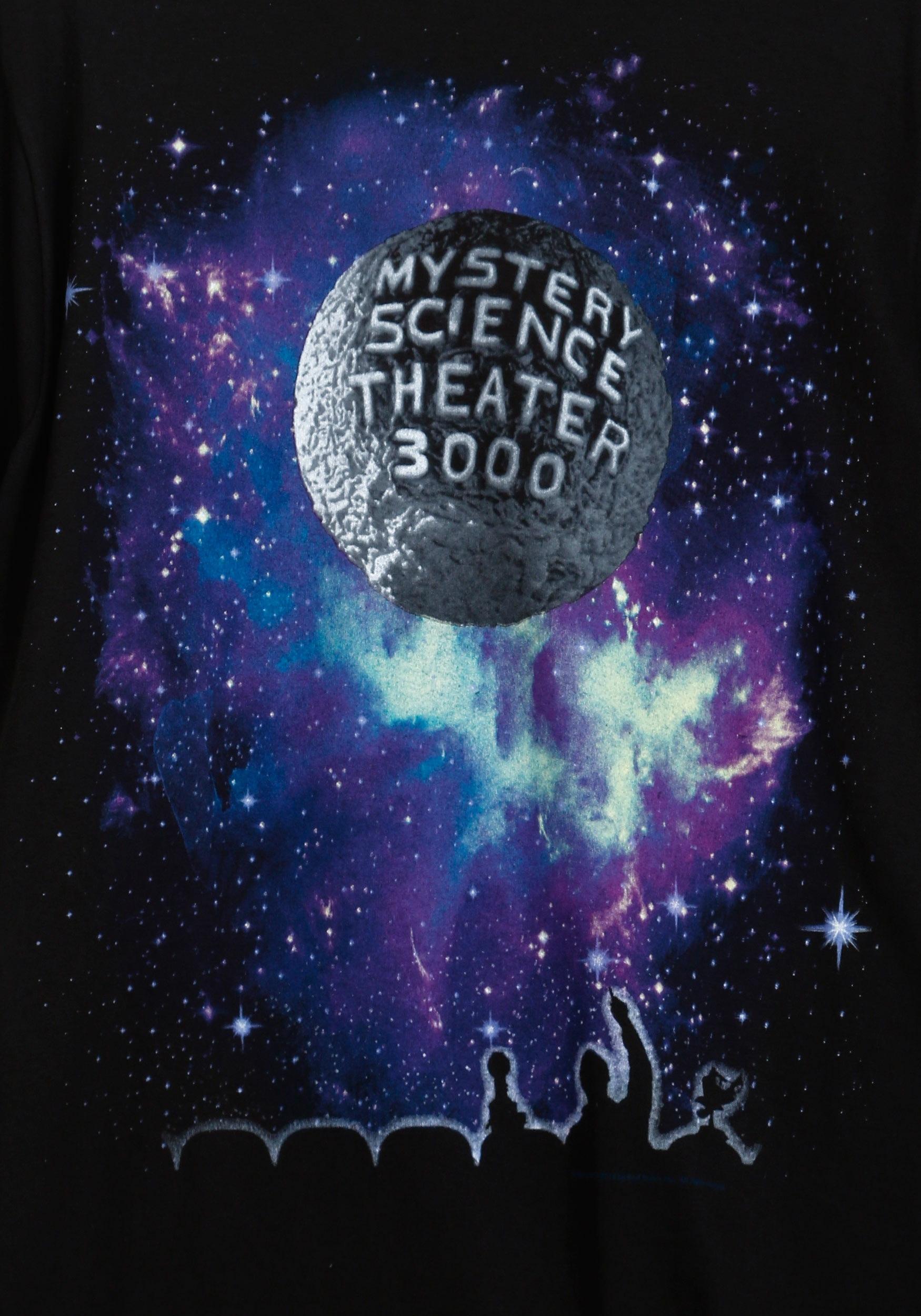 Mystery Science Theater 3000 Rainbow T Shirt