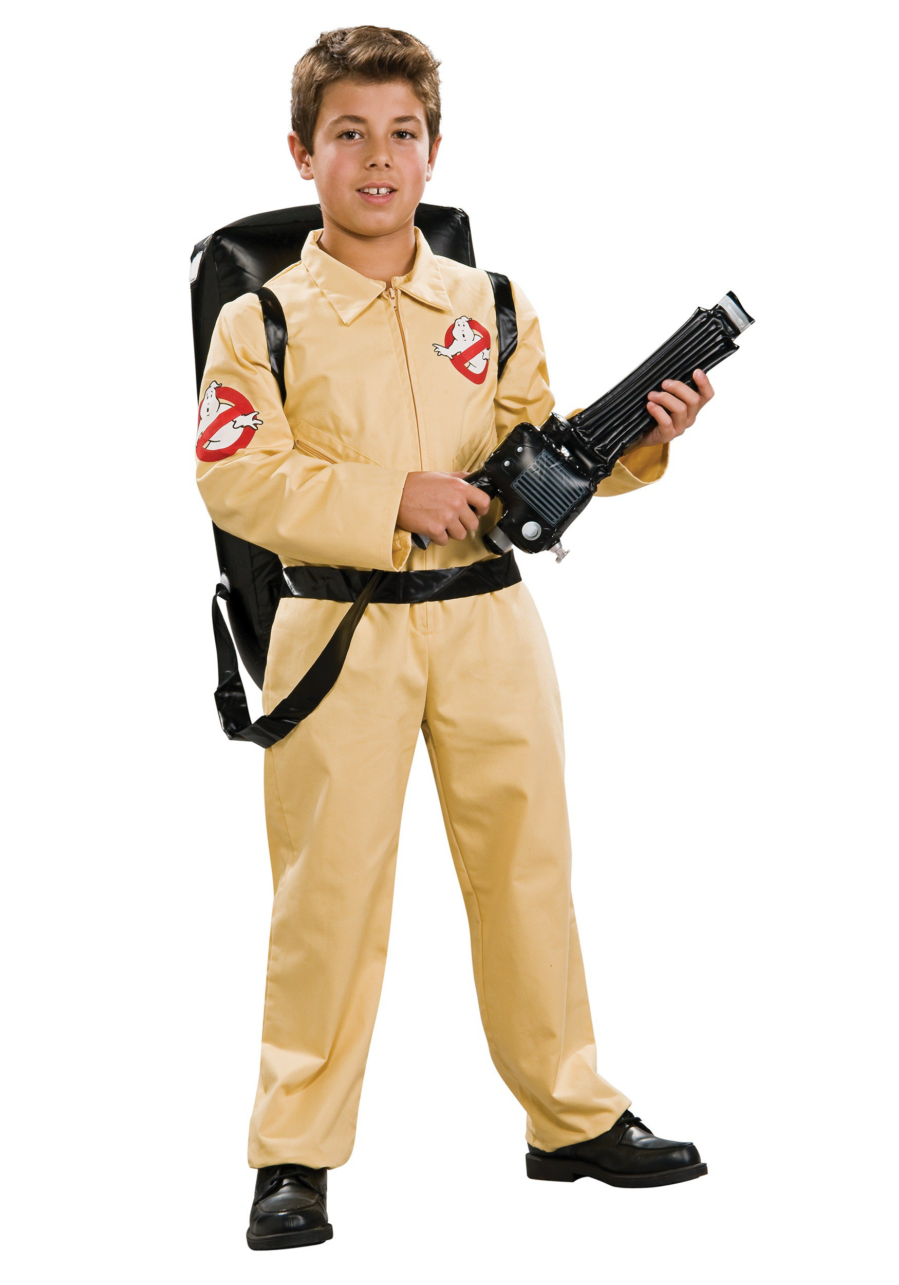 deluxe ghostbusters costume for boys. Black Bedroom Furniture Sets. Home Design Ideas