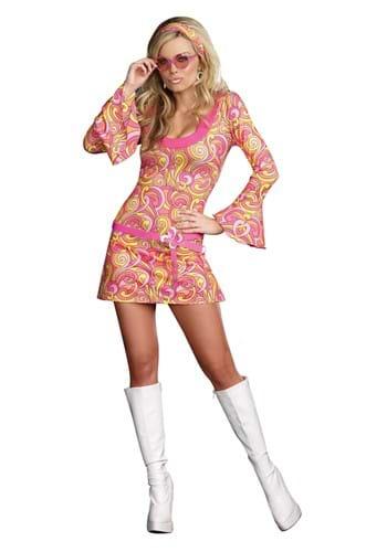 Women's Groovy Go Go Dancer Costume