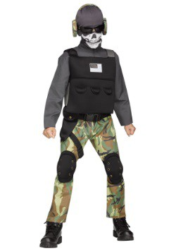 Child Skull Soldier Costume