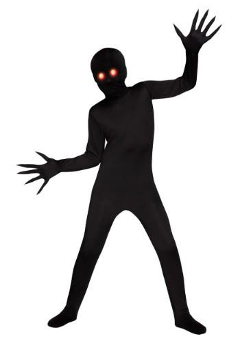 Glowing Eye Shadow Demon Boys Costume