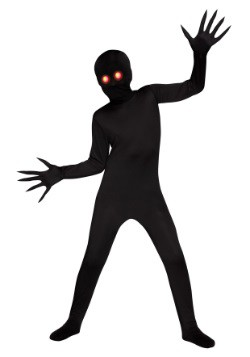 Glowing Eye Shadow Demon Boys Costume