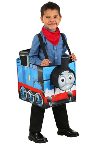 Child's Thomas the Train Ride in Costume